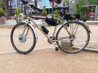 se vende bicicleta de paseo electrica