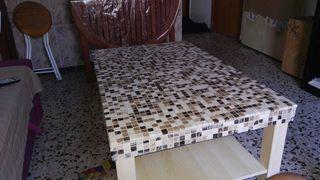 Teselas para hacer mesa de mosaicos con gresite