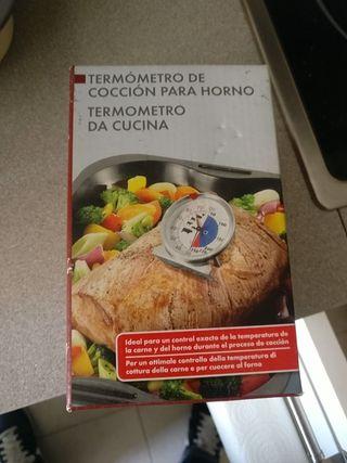 termómetro de cocción para horno