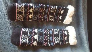 calcetín alto invierno