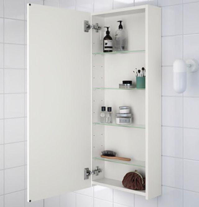 Mueble pared baño
