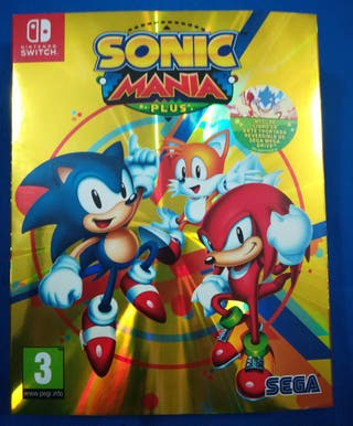 Nuevo Sonic mania plus Nintendo Switch