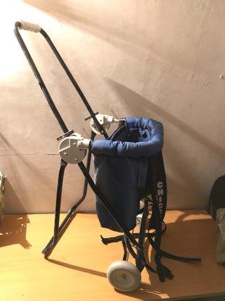 Carrito-mochila Chico para llevar bebes