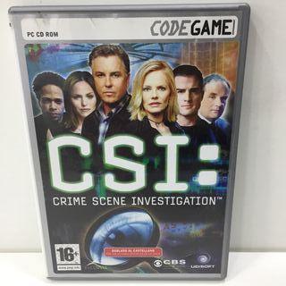 JUEGO PC CSI CRIME SCENE INVESTIGATION