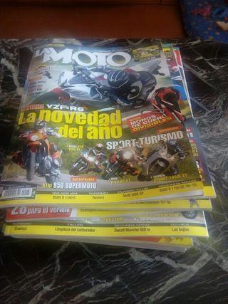 70 revistas la moto