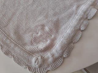 Mantita de bebé 72x90