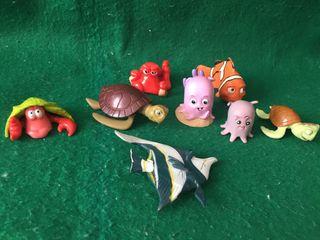 Figuras Disney peces