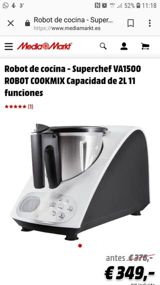 robot de cocina superchef VA 1500