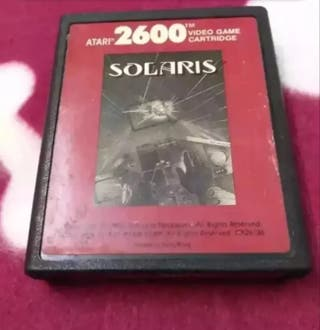 Juego Atari VCS 2600 SOLARIS envío gratuito.