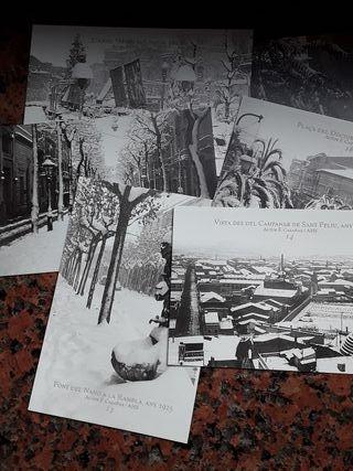 postales sabadell nevada 1995