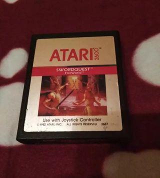 Juego Atari VCS 2600 SWORDQUEST envío gratuito.