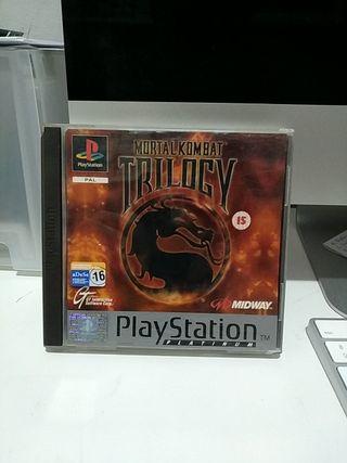 Mortal Kombat Trilogy Psx Completo