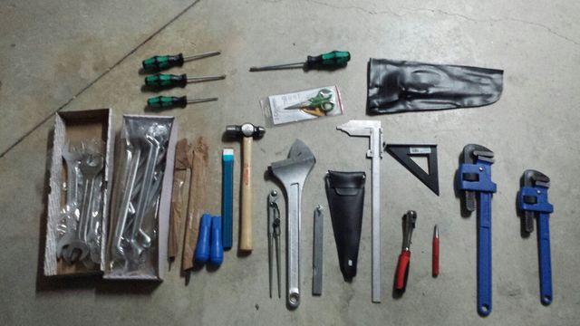 herramientas varias