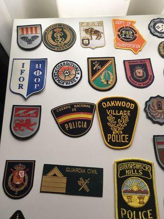 Parches militares y policiales