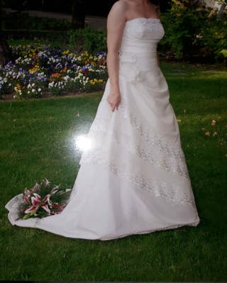 vestido de novia de segunda mano en la provincia de pontevedra en
