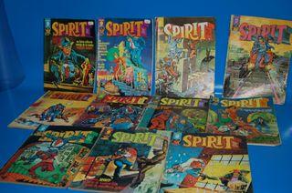 Lote de Comics SPIRIT-editorial Garbo 1975 1 al 11