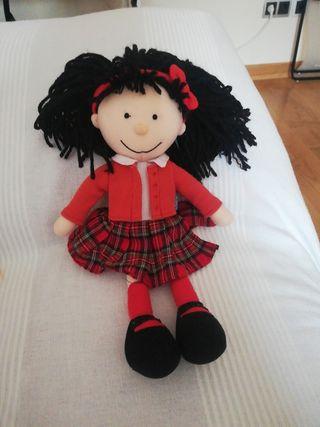 Muñeca de trapo Amanda
