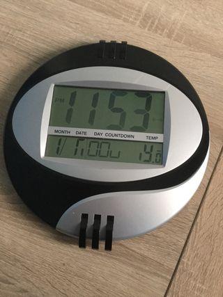 Segunda Mano Wallapop En Digital Reloj Pared De dxoWeCrB