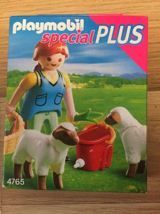 Playmobil 4765 recolectora de ovejas