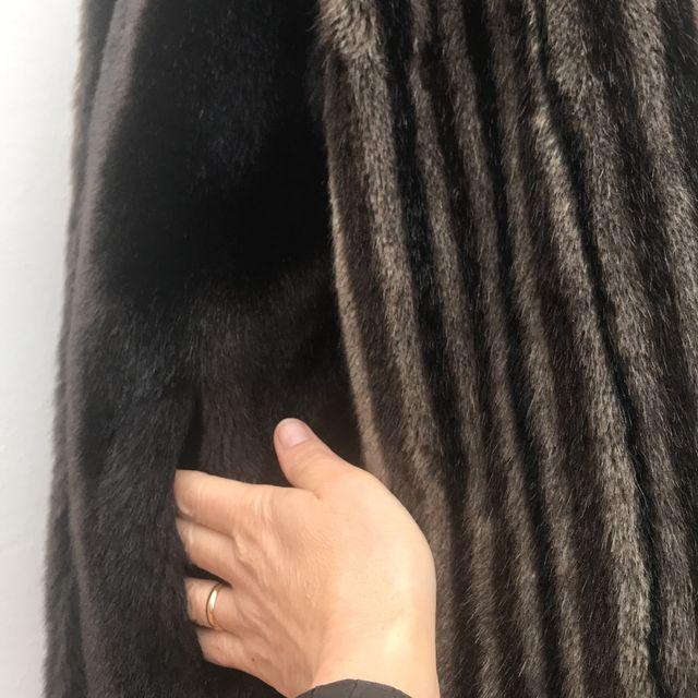 Abrigo de peleteria BT EXQUISIT talla L