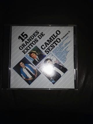 CD. DISCO. Camilo Sesto.