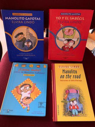PACK/LOTE Libros Manolito Gafotas