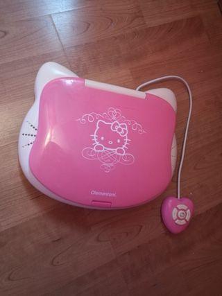 portátil de juguetes para niñas