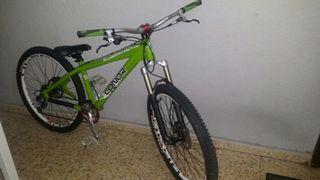 bicicleta de Dirt