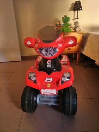 moto quad bateria niño