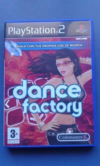 Dance factory para Playstation 2