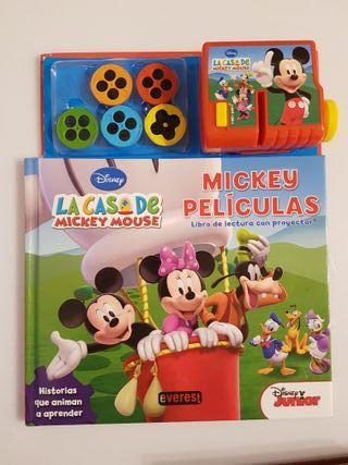 Cuento Mickey películas proyector