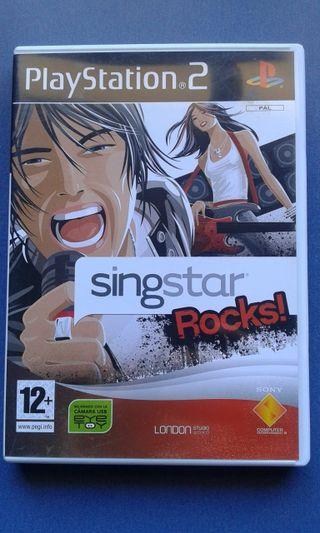 Singstar Rocks! para Playstation 2