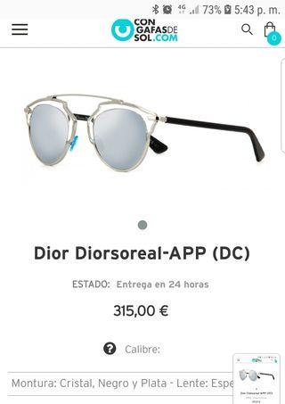 38a38e3b0de Gafas Dior So real de segunda mano en la provincia de Madrid en WALLAPOP