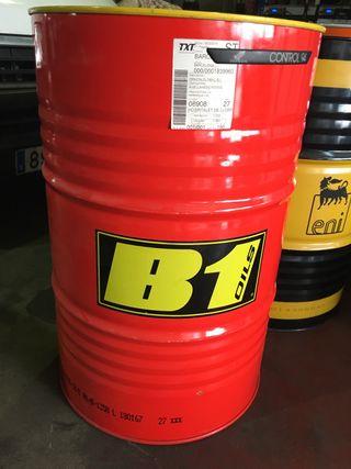 Bidon aceite gasolina barbacoa