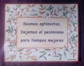Azulejo Optimismo