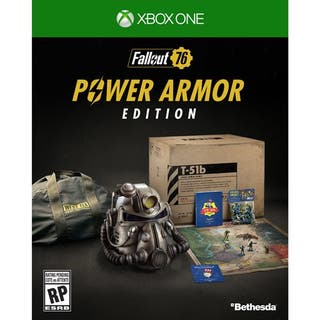 Fallout 76 power armor edition xbox one t-51