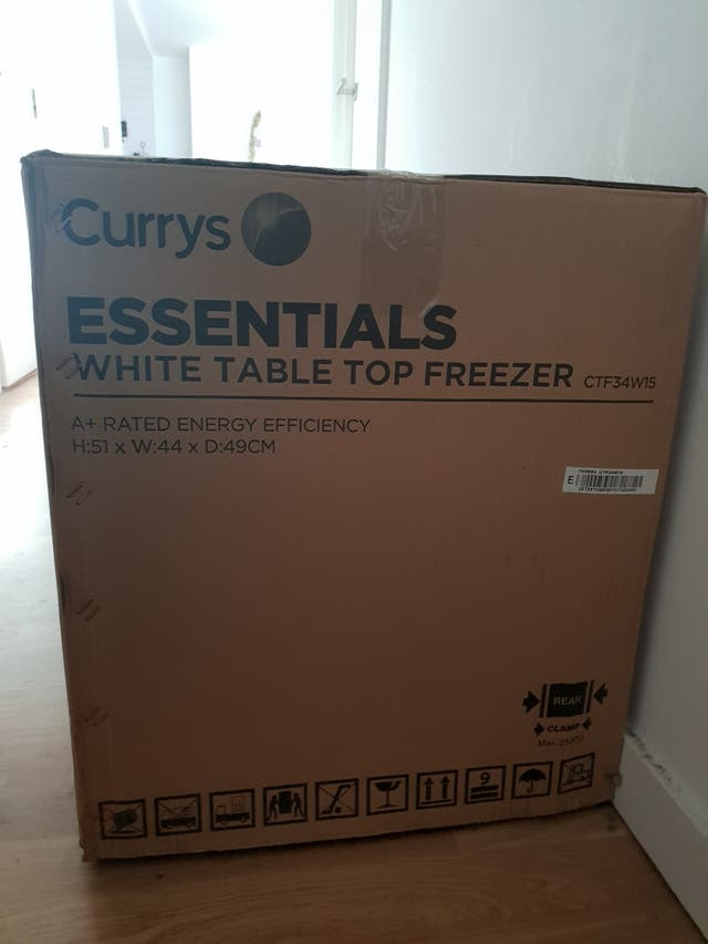 Mini Tabletop Freezer