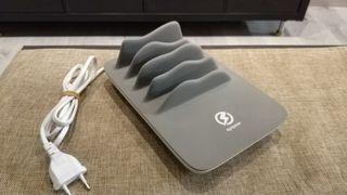 Base de carga inalambrica y USB