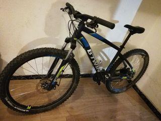 vendo bicicleta de montaña marca btwin 520