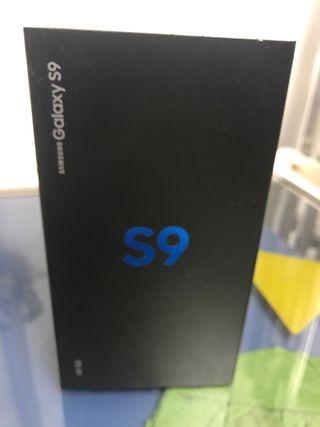 Samsung S9 negro 64 Gb libre