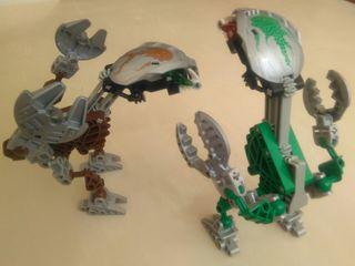 Bionicle LEGO 8576 Y 8577