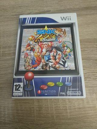 SNK Arcade Classics Nintendo Wii