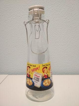 botella vintage retro.