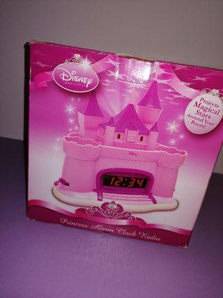 princess alarm clock radiio