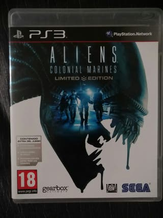 ALIEN COLONIAL MARINES PS3 PLAYSTATION VIDEO JUEGO