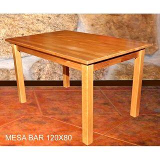 vendo mesas madera maziza restaurante