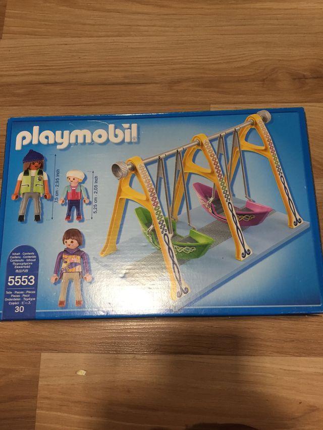 Playmobil 5553 barcas parque infantil