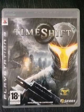 TIMESHIFT PS3 PLAYSTATION VIDEO JUEGO