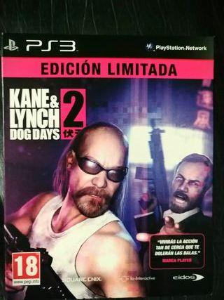 KANE & LYNCH 2 PS3 PLAYSTATION