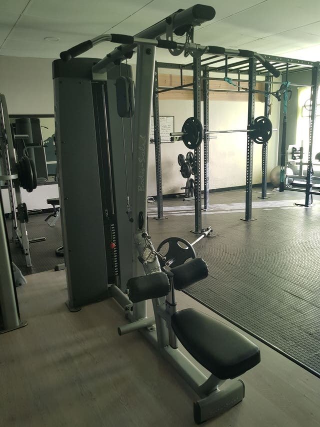 Lote Gimnasio Fitness. Body Solid Duales